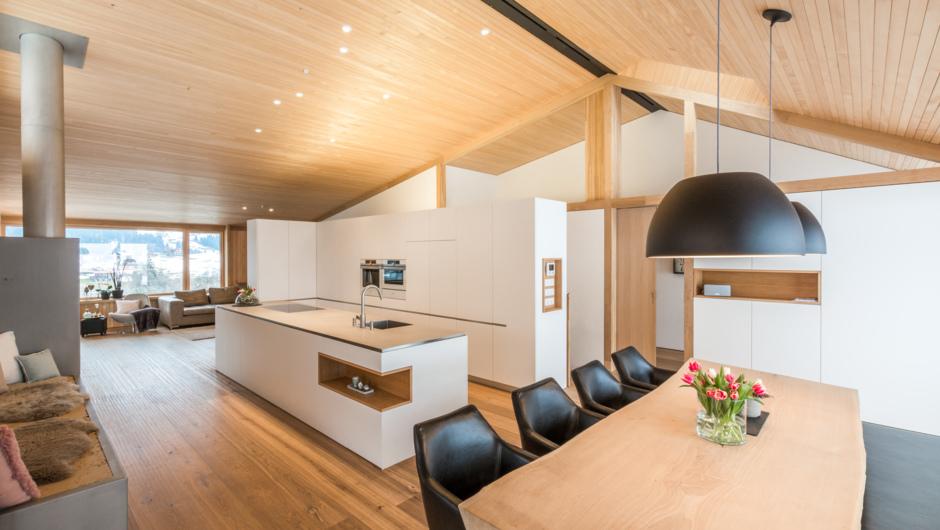 Holzbau innen  Einfamilienhaus Sohm/Milovanovic - Sohm HolzBautechnik GmbH